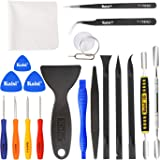 Kaisi Professional Electronics Opening Pry Tool Repair Kit with Metal Spudger Non-Abrasive Carbon Fiber Nylon Spudgers…