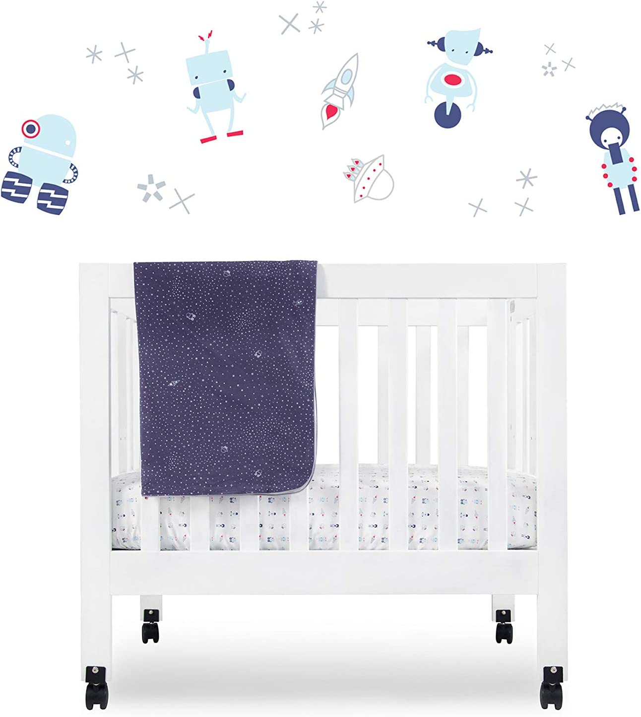 Fitted Crib Sheet  Mini Crib Sheet Temple Alanque