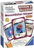 Ravensburger tiptoi Spiel Wissen & Quizzen: Menschlicher Körper - 00753 / Sammelt allein oder gemeinsam wertvolles Wissen über den menschlichen Körper von A bis Z