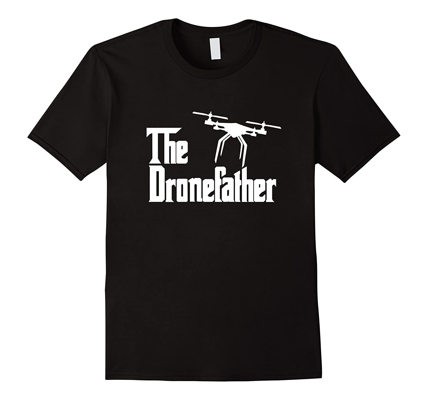 The Dronefather RC aviation vintage airplanes funny t-shirt-TH