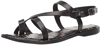be6fc8a96 Amazon.com  Sam Edelman Women s Gladis Flat Sandal  Shoes
