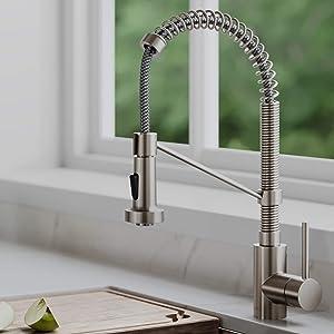 Kraus KPF-1610SFS Bolden Kitchen Faucet, Spot Free Stainless Steel