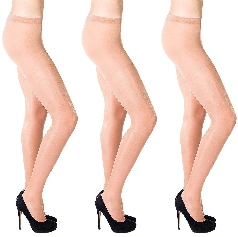 Shade of nude summer sheer tights 20 denier Aurellie 3 Packs