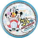 ディズニー ランド 34周年 2017 缶バッジ カンバッジ ミッキー ミニー グーフィー ( ランド限定 グッズ )