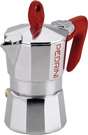 قالب قهوة مكون من 2 كوبين P9082 من بيدريني - فضي