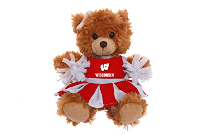 499a5faebb2 Amazon.com  Plushland NCAA Collegiate Mocha Cheer Bear 6