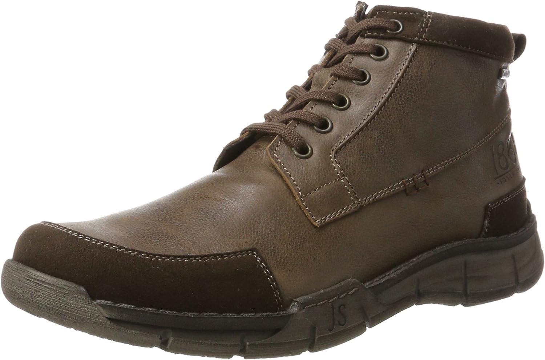 Josef Seibel Men's Emil 11 Short boots Braun 11 UK Moro