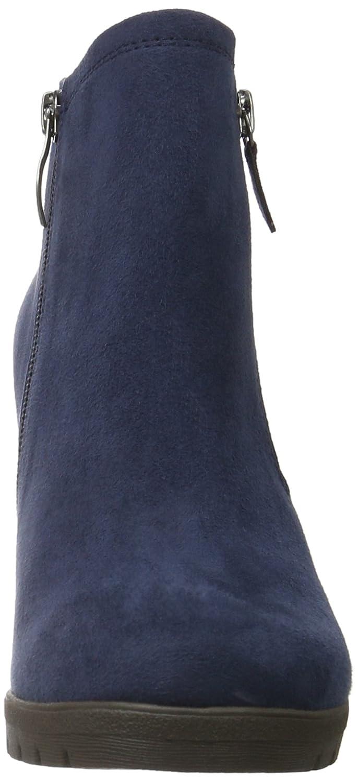 Tamaris 25333 Damen Kurzschaft Stiefel Blau (Navy 805