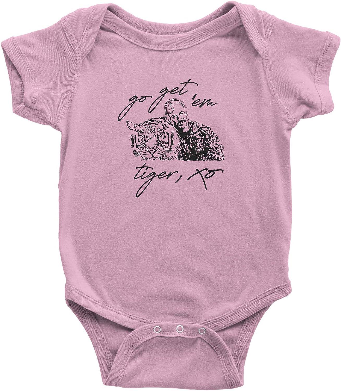 Expression Tees Go Get Em Tiger Joe Exotic Infant Onesie Romper Bodysuit