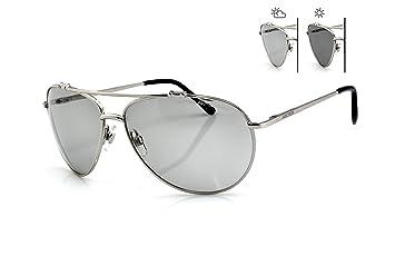 New Classic Sonnenbrille Damen & Herren s-157F Sun Trooper PHOTOCHROME Linsen Aviator Stil perfekt für Golf fahren mit Fall psPAiU