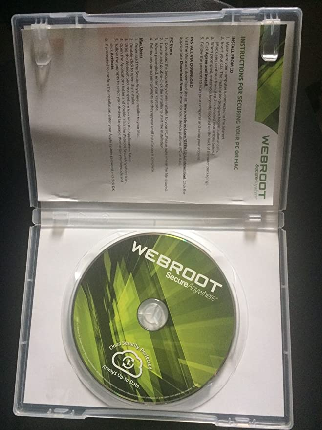 Webroot secureanywhere antivirus for mac review.