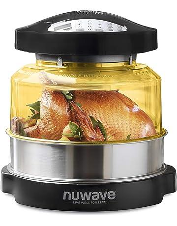 NuWave 20606 | Horno de conducción, convección e Infrarrojos, Comidas más sanas y cocción