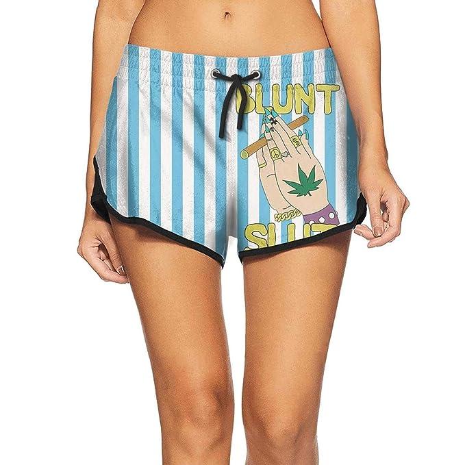 Amazon.com: Pantalones de playa para mujer con pintura ...