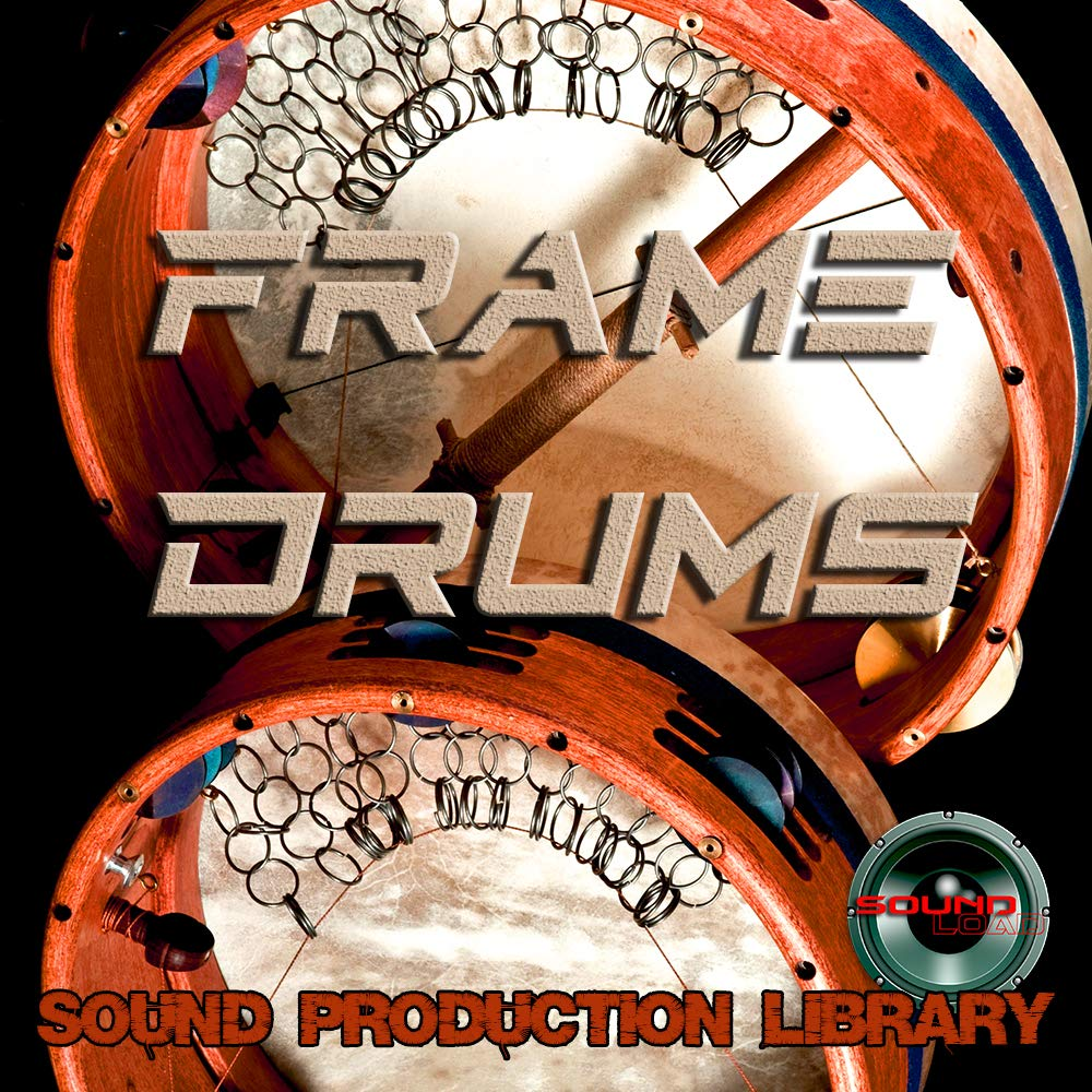 Frame Drums REAL - Unique Original Samples/Loops Studio Production Library on DVD or download