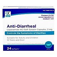 Quality Choice Loperamide 2mg Anti-Diarrheal Softgel