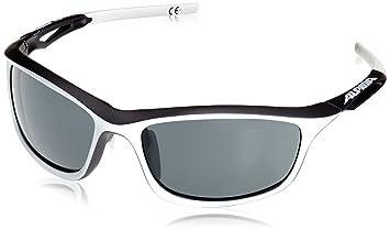 Alpina Testido Fahrradbrille Black Matt-White One Size 9xLZIo