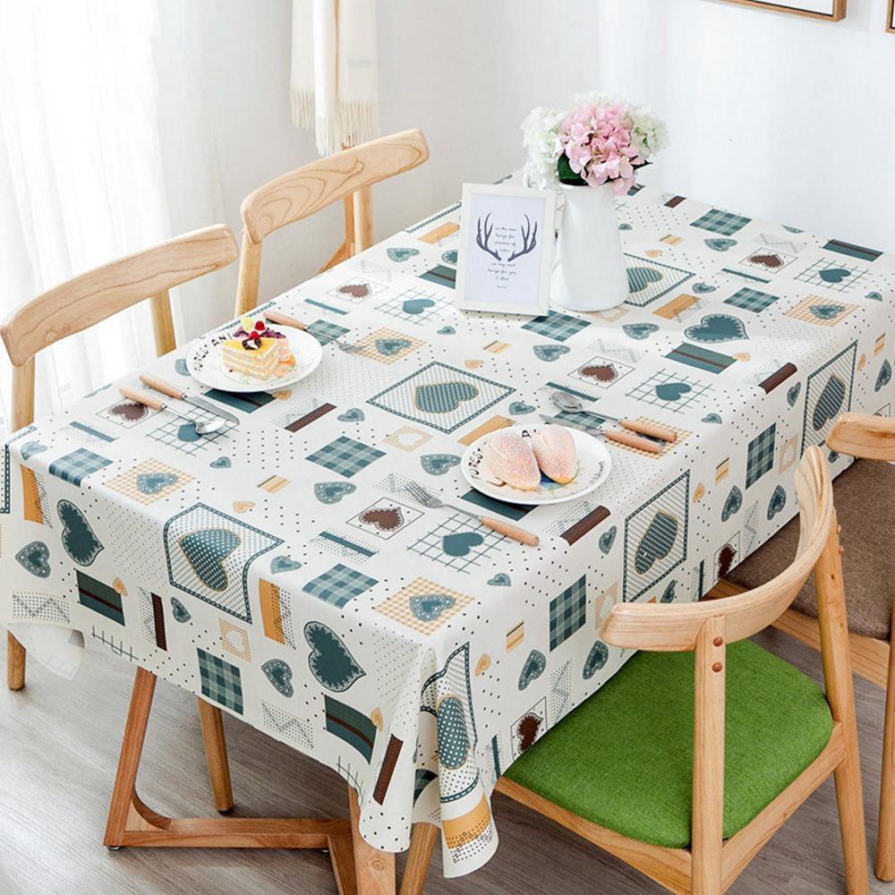Longless PVC wasserdichte Tischdecken Europäische dekorative Tischdecken Öl Antifouling Haus Speisetischdecken 1.37  1.85m B079DQQ32K TischdeckenAusgezeichnet | Angemessene Lieferung und pünktliche Lieferung