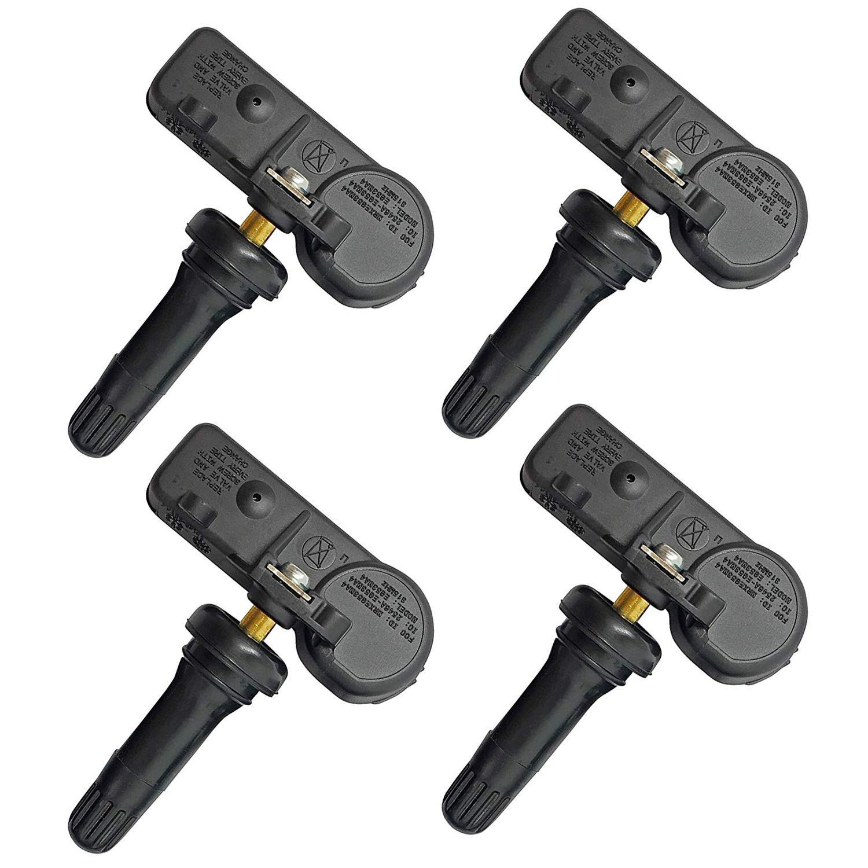 SSHENG Set of 4 Tire Pressure Monitoring Sensor TPMS12 315MHZ DE8T-1A180-AA Fit Ford Edge Explorer Lincoln Navigator