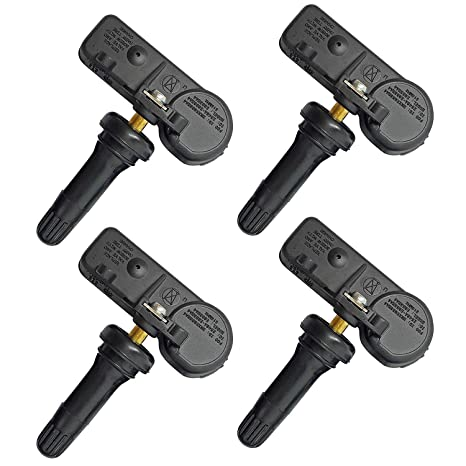 Set of 4 OEM Genuine Ford Motorcraft Tire Pressure Sensors DE8T-1A180-AA TPMS US