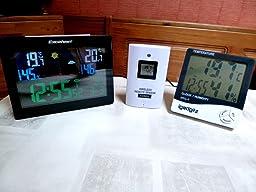 Excelvan horloges stations m t o avec cran led int rieure for Star meteo probleme temperature exterieur
