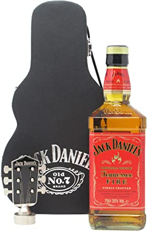 Jack Daniels - Tennessee Fire Guitar Case (Hard To Find Whisky Edition) - Whisky