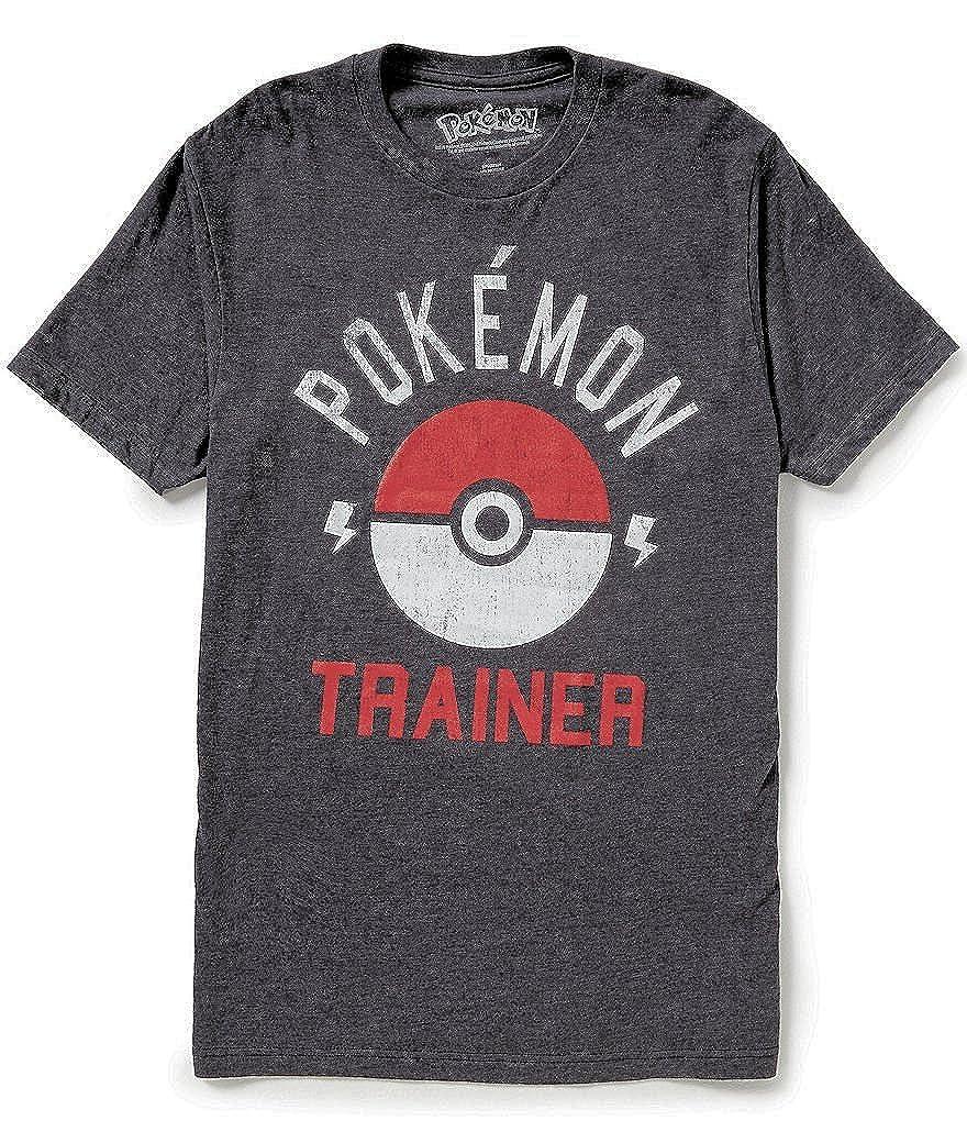 e7dcd778 Amazon.com: Pokemon Trainer Pokeball Mens Tee Shirt: Clothing