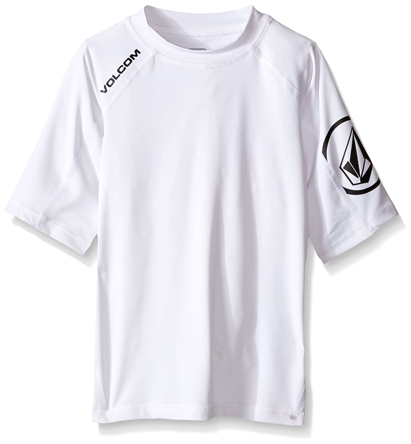 Volcom Boys' Solid Short Sleeve Rashguard Volcom Children' s Apparel P0111600