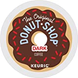 The Original Donut Shop Dark Keurig Single-Serve K-Cup Pods, Dark Roast Coffee, 72 Count (6 Boxes of 12 Pods)