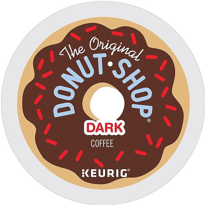 Original Donut Shop Dark for Keurig Single-Serve K-Cup Pods