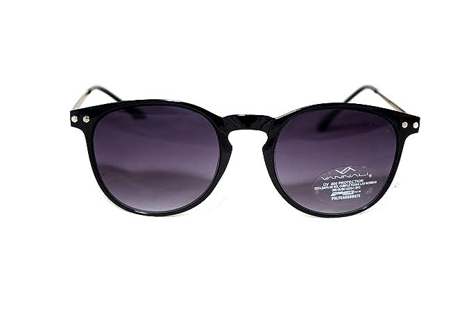 VANNALI Gafas de sol hombres y mujeres estilo retro vintage ...