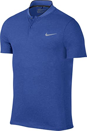 a97065cd Image Unavailable. Image not available for. Color: Nike Momentum Fly Dri-FIT  Wool Men's Slim Fit Golf Polo - 802838-480