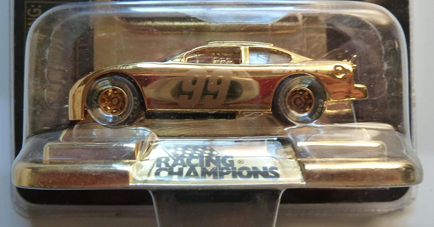 1 of 9,998 Jeff Burton NASCAR 24K Gold Plated Commemorative Series Limited Edition 1//64 Scale Die Cast Replica Race Car Racing Champions