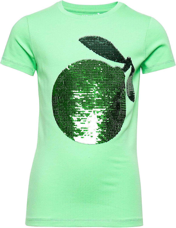 NAME IT - Camiseta para niña con lentejuelas reversibles: Amazon.es: Ropa y accesorios