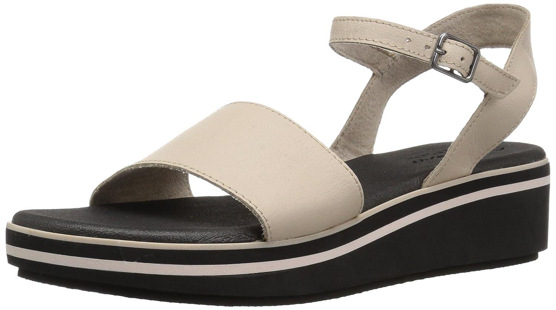 53824eaeb8bd Skechers Womens Hushhush - Jet Crew - Ankle Strap Platform Wedge Sandal  Wedge Sandal  Amazon.ca  Shoes   Handbags