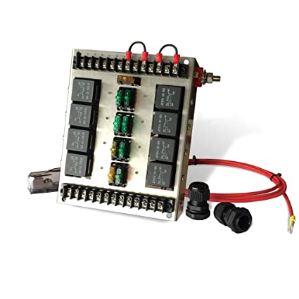 Phenomenal Mgi Speedware Relay Panel Box And Wiring Block Kit With 12 Volt Dc Wiring Cloud Tobiqorsaluggs Outletorg