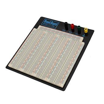 sourcing map ZY-208 blanca 3220 Punto de unión placa de circuito electrónico PCB placa