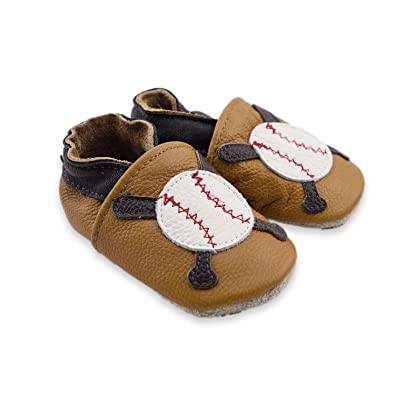 Amazon.com: cococute Infant Baby bebé Moccasins – Dibujos ...
