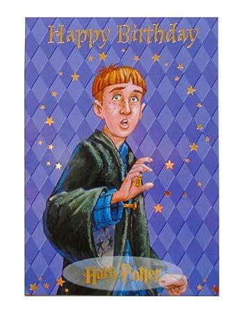 Amazon ron weasley happy birthday greeting card harry ron weasley happy birthday greeting card harry potter bookmarktalkfo Image collections
