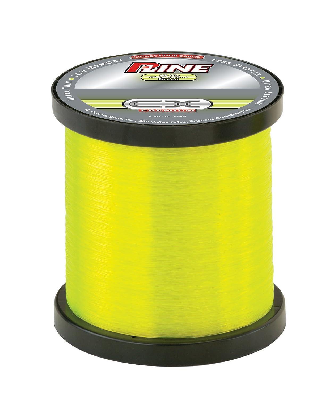 P-Line CX Premium Moss Green Fishing Line 3000 YD Bulk Spool
