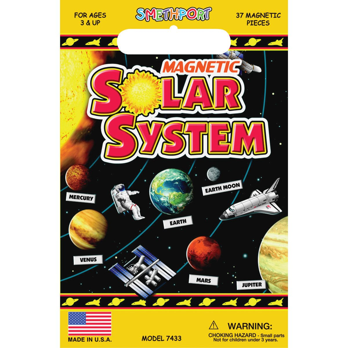 Create-A-Scene Magnetic Playset - Solar System by PlayMonster