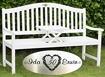 Superb Wedding Day Engraved Bench Engraved Garden Bench Wedding Caraccident5 Cool Chair Designs And Ideas Caraccident5Info