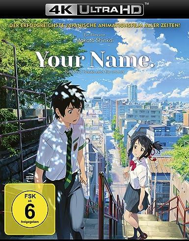 Your Name. - Gestern, heute und für immer 4K Ultra HD + Blu-ray 2D Alemania Blu-ray: Amazon.es: Shinkai, Makoto: Cine y Series TV