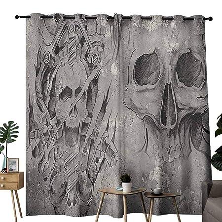 Cortinas anchas para oscurecer la habitación, decoración de ...