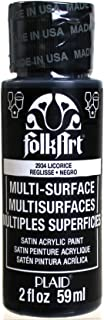 product image for FolkArt Multi-Surface Paint in Assorted Colors (2 oz), 2934, Licorice