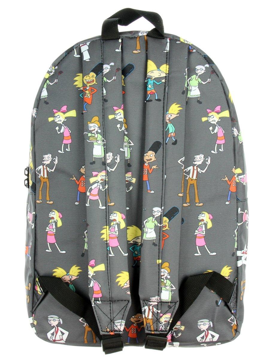 Amazon com nickelodeon 90s shows cartoon hey arnold backpack casual daypacks