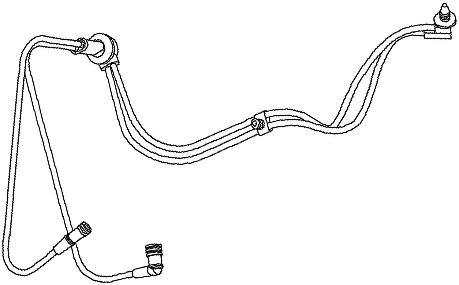 ACDelco 15-75212 GM Original Equipment Heating and Air Conditioning Vacuum Harness