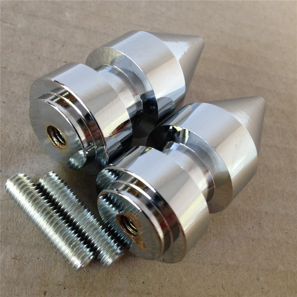 HTTMT MT221-009 Spike Swingarm Spools 6mm Thread Compatible with Yamaha YZF-R1 R6 98-13// YZF600R 05-07 Blue