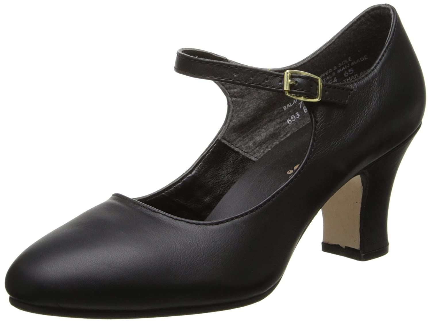 Capezio Women's Manhattan Character Shoe, B0026M81Z6 9.5 M US|Black