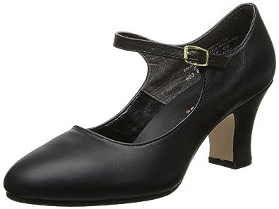 Capezio Women's Manhattan Character Shoe,Black,4 ...