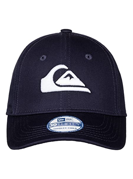 new style f998d 4a232 Amazon.com  Quiksilver Boys Mountain   Wave Colors - Cap Cap Navy Blazer Red  One Size  Clothing